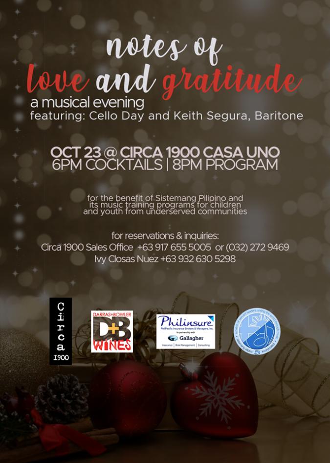 Notes of Love & Gratitude: A Musical Evening